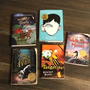 Other - Set of 5 Books for Middle School Readers